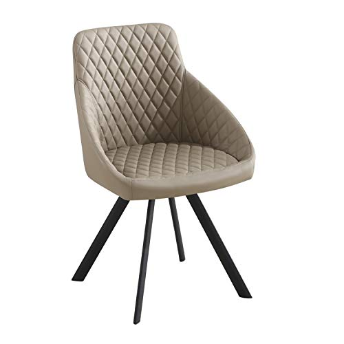 Tomasucci Tips Taupe Set mit 4 Stühlen