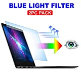 AyaWico 2PC Pack 13.3 inch Blue Light Blocking Laptop Screen Protector, Blue Light Filter for Notebook...