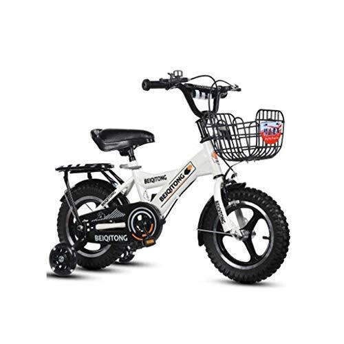 BOC High Carbon Stahlrahmen Kinderfahrräder mit verdickter Reifen Fahrräder für Jungen und Mädchen 2-11 Jahre alt, B, 16 Inches,A,14 Zoll