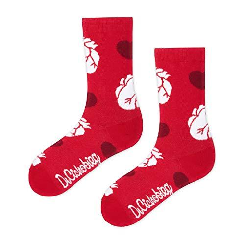 DrSoftStep Socken | 41-46 | Lustig Bequem Geschenk | Geburtstag | Arbeit Job | Dr Kardiolove