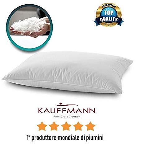 KAUFFMANN Angebot Kissen / Kissen aus Gänsedaunen, 80 % Federn + 20 % Daunen, Angebot 1. Weltmeisterhersteller
