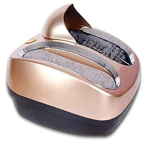 NJBYX 220V completamente automático zapato inteligente suela limpieza máquina de pulido de zapatos limpiador de zapatos en lugar de cubierta de zapatos (Color : B, Size : One size)