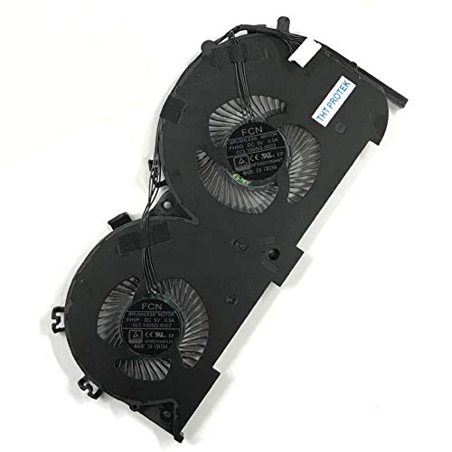 Kompatibel für Lenovo IdeaPad 700-15ISK, 700-17ISK Lüfter Kühler Fan Cooler