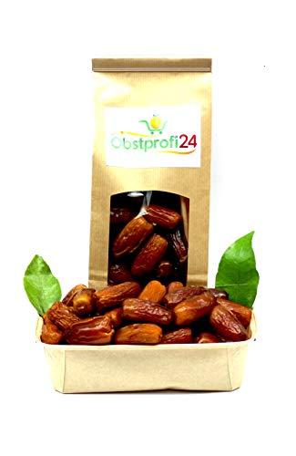 Obstprofi24 - BIO Datteln - Deglet Nour Entstein - Ungezuckert - Natürliche Top Qualität - 7 kg Kiste Datteln