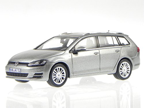 VW Golf 7 Variant 2013 tungsten silber Modellauto Spark 1:43