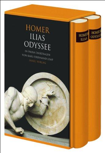 Ilias. Odyssee: Zwei Bände im Schuber