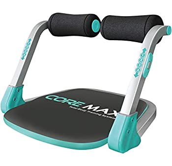 Core Max 2.0 Smart Abs and Total Body Workout Cardio Home Gym  Teal/Grey