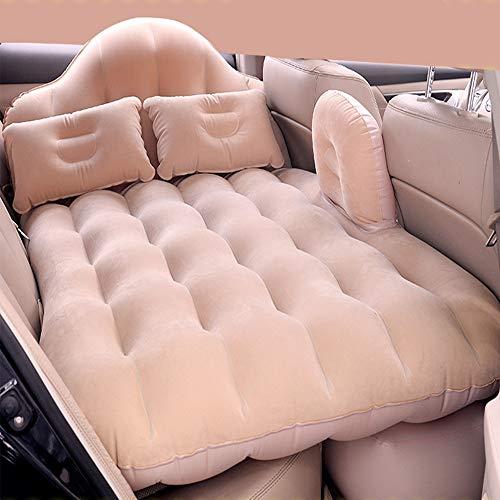 L R Auto draaibank Multi-kinetische auto opblaasbaar bed Oxford afdrukken split auto mid-bed flocking achterste rij zelfrijdende matras