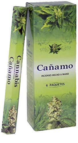 Imagen del productoAndrea Collection Incienso Cáñamo (Cannabis) 6x20= 120 Varillas