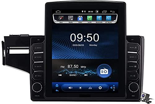 Schermo verticale 9.7 pollici Android 9.1 Auto multimediale Auto per Honda Fit Jazz LHD RHD 2014-2020, GPS Stand Browser Auto Radio USB BT Volante, TS100