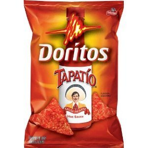 Doritos Tapatio Salsa Picante Hot Sauce Flavor Chips 7 5/8 oz Bag (Pack of 1)