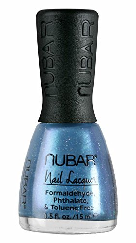 Nubar Mode Nagellack, wild blue yonder, 1er Pack (1 x 15 ml)