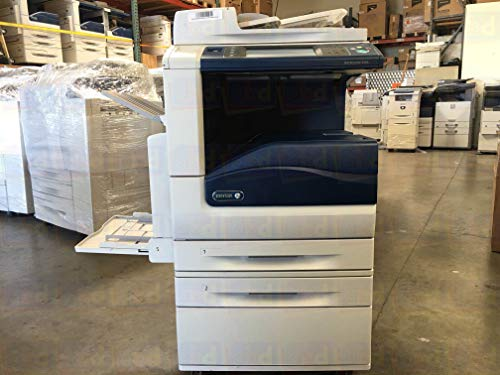 Best Deals! Renewed Xerox WorkCentre 7556 Tabloid-size Color Multifunction Printer - 50 ppm, Copy, P...