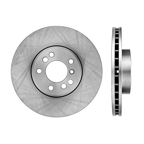 CRK12706 FRONT Premium Grade OE 348 mm [2] Rotors Set [ fit BMW E65 E66 745 750 760 Series ]