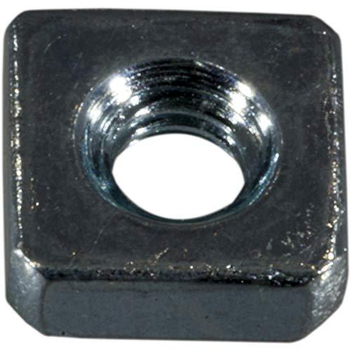 Hard-to-Find Fastener 014973401214 Coarse Square Nuts, 8-32-Inch, 48-Piece