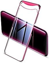 جراب هاتف GKK جديد oppo find x جراب هاتف محمول شفاف مطلي بقطعتين من المنتجات الجديدة من OPPO