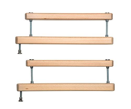 Geuther - 2725ZK+ natur, Zusatzklemme für Tür- und Treppenschutzgitter,