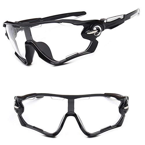 Mazu Homee HD gafas de ciclismo equipo de bicicleta deportes al aire libre hombres y mujeres gafas de sol peinado correr gafas de pesca (múltiples gafas opcionales)