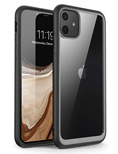 SUPCASE Coque iPhone 11, Coque Transparente Anti-Choc de Protection Hybride Bumper [Unicorn Beetle Style] pour iPhone 11 6.1 Pouces 2019 (Noir)