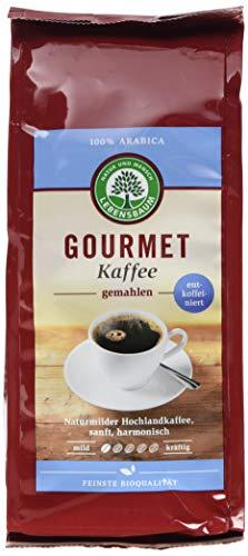 Lebensbaum Bio Gourmet-Kaffee entkoffeiniert, 250 g