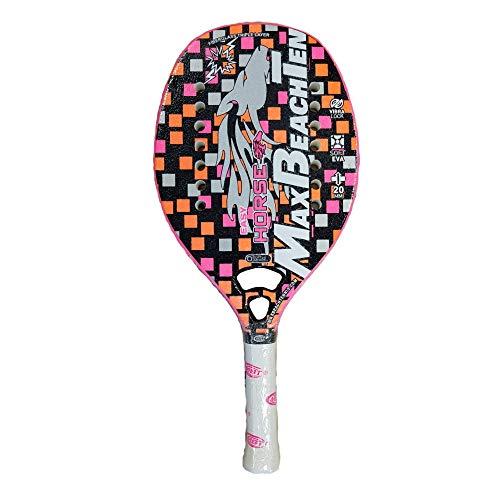 Max Beach Tennis MBT Raqueta Beach Tennis Racket Easy Horse 2020