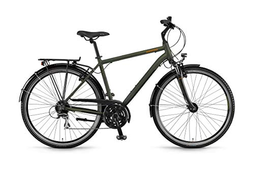 Unbekannt Winora Domingo 24 Herren Trekkingrad Oliv/schwarz matt RH 56 cm / 28 Zoll