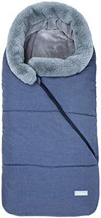 Fur Collar Baby Stroller Sleeping Bag Newborn Sleep Sack Thicken Warm Infant Sleepsacks Keep product image