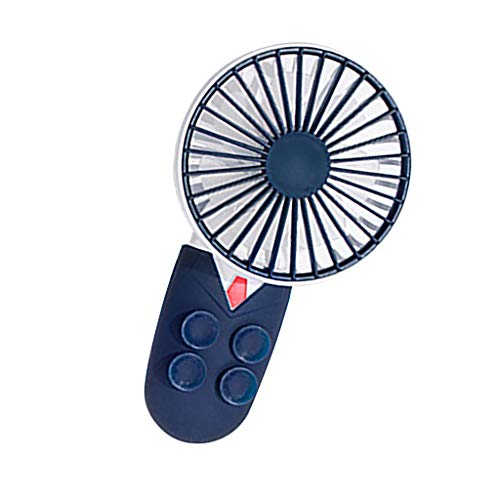 BRISEZZ Zomerventilator, draagbare USB-oplaadbare koeling, mini-ventilator cool, in de zomer, clip op het bureau, mobiele games, 3 snelheden