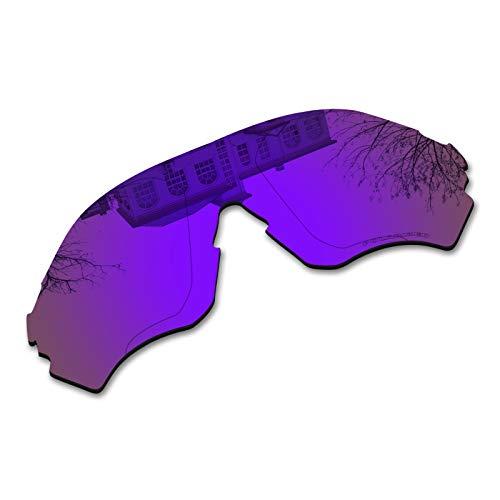 Millersawp EVZero Range OO9237 Replacement Lenses for Oakley Sunglass-Purple Iridium