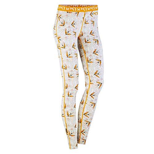 Kari Traa Women's Fryd Base Layer Bottoms - Thermal Pants, Hazel, Small
