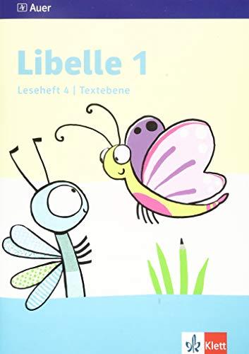 Libelle 1: Leseheft 4, Textebene Klasse 1 (Libelle. Ausgabe ab 2019)