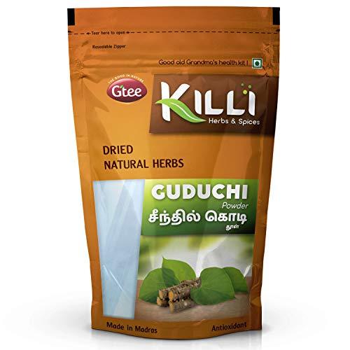 KILLI Guduchi | Seenthil kodi | Giloy | Tippa teega | Tinospora cordifolia | Amruthaballi Pulver, 100 g