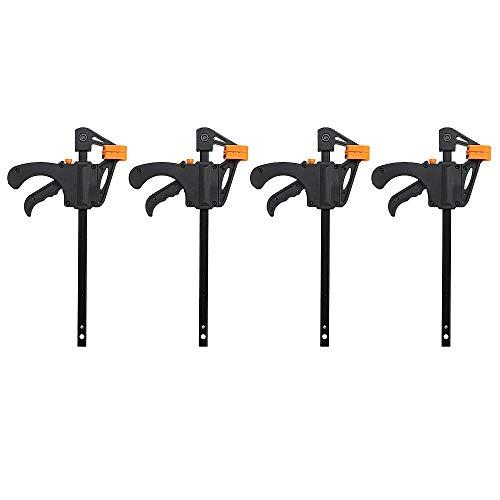 Asixx Spannzwingen Set, Holz Klemme F-Klammer aus Kunststoff und Aluminiumlegierungen Holzbearbeitungsklemmen für Möbelherstellung und Verpackungsindustrie