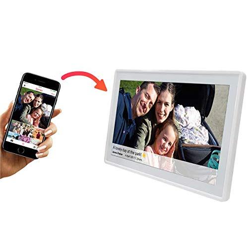 Denver Digitaler Bilderrahmen Weiß PFF-1160H Frameo 11,6 Zoll
