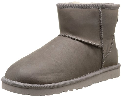 UGG Herren Mini Classic, Braun Marrone Leather Feather, 38 EU