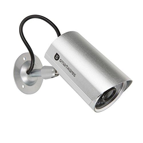 Smartwares Dummy-Kamera aus Metall für Innen- und Außeneinsatz, CS22D