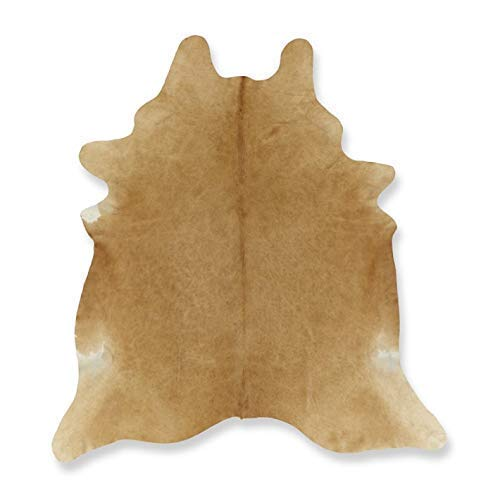 Tomtom Cowhides Butter Cream Cowhide Rug 6x6