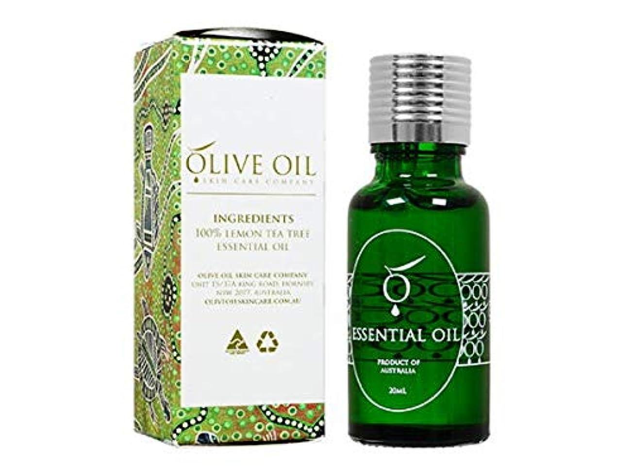 マイコン第三起きているOliveOil エッセンシャルオイル?レモンティーツリー 20ml (OliveOil) Essential Oil (Lemon Tea Tree) Made in Australia