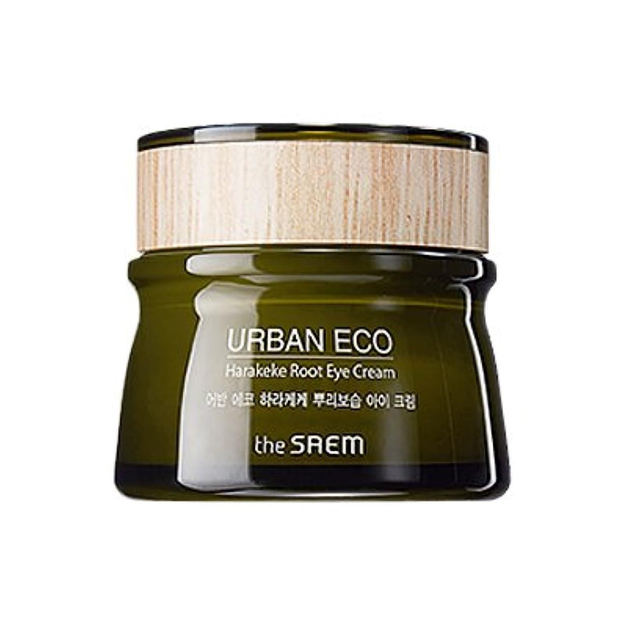 イベント露盗難The SAEM Urban Eco Harakeke Root Eye Creamザセムアーバンエコハラケケ根保湿アイクリーム [並行輸入品]