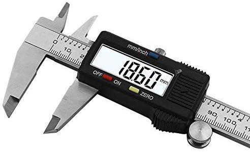 ARLICODECK™ Digital Stainless Steel Caliper, Vernier Caliper, Caliper Measuring Tool with Inch/Millimeter Conversion,...