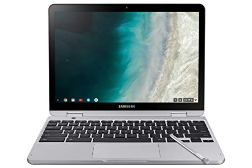 "Samsung Chromebook Plus V2 2-in-1 Laptop- 4GB RAM, 64GB eMMC, 13MP Camera, Chrome OS, 12.2"", 16:10 Aspect Ratio- XE520QAB-K03US Light Titan"