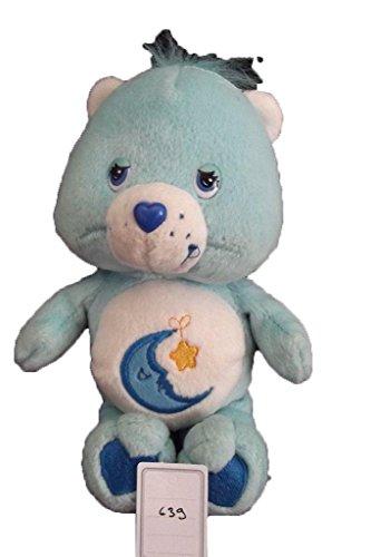X-anderen–Kuscheltier Care Bears Die Glücksbärchis blau Mond und Stern Gelb 20CMS–639