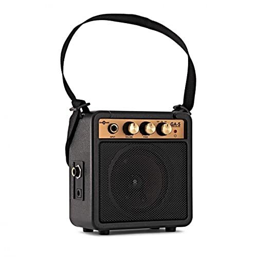 Portable Battery Powered Mini Guitar Amp by Gear4music