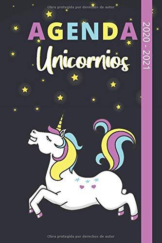 Agenda Unicornios 2020-2021: Ideal para la Escuela Media, Secundaria y Superior | Para Chicas o Chicos Fanáticos de los Unicornios | 15x22cm