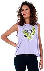 Guess Camiseta Sin Mangas Mujer Lila
