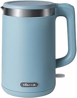KELITE Pot de santé ménagère 1.5L Porridge Coupe-Soupe Coupe électrique Bouilloire électrique bouillante Tasse de thé Mach...