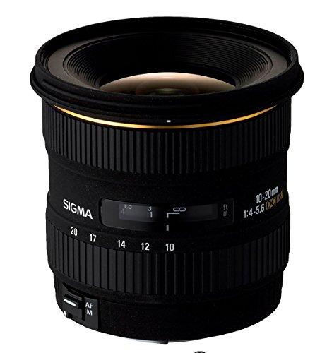 Sigma 10-20/4,0-5,6 DC/EX/HSM - Objetivo para Canon (Distancia Focal 10-20mm, Apertura f/5.6) Color Negro