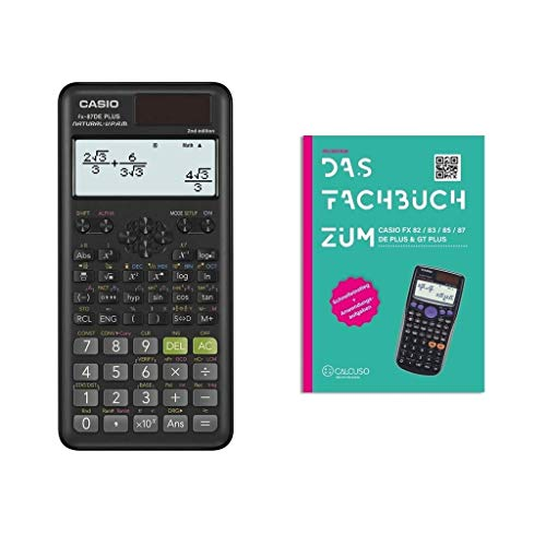 Casio FX-87DE Plus 2 (2nd Edition) +...