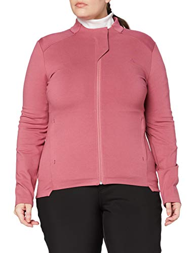 Schöffel Parnell Fleece Jacket, Giacca in Pile da Donna, Moscato Rosso, 42