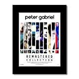 Music Ad World Poster Peter Gabriel, Remastered Collection,